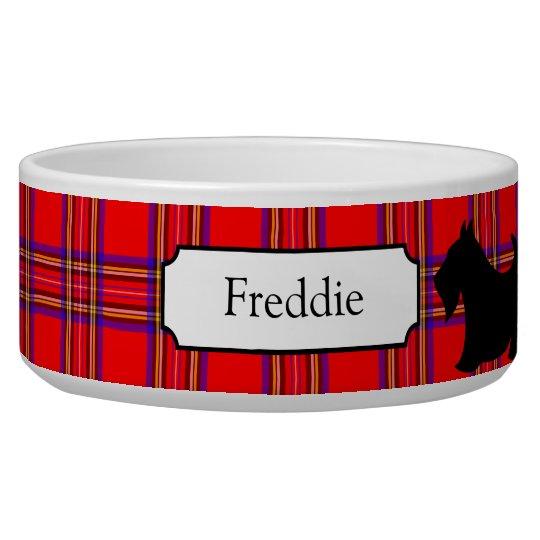 Customised Scottish Terrier Pet Bowl