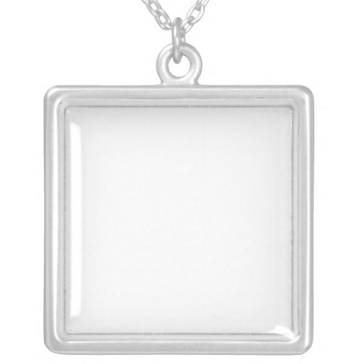 Customised Silver Plated Necklace