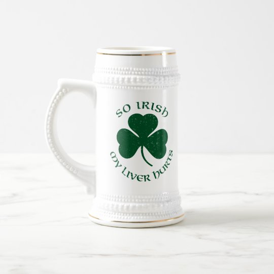 Customised St Patty's Mug