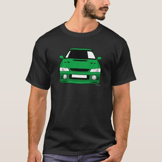 Customised Subaru GC8 Impreza Car T shirt