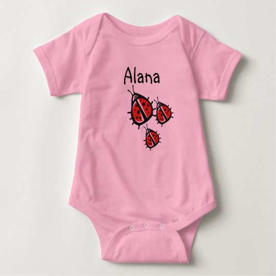 Customised Three Little Ladybug Shirt