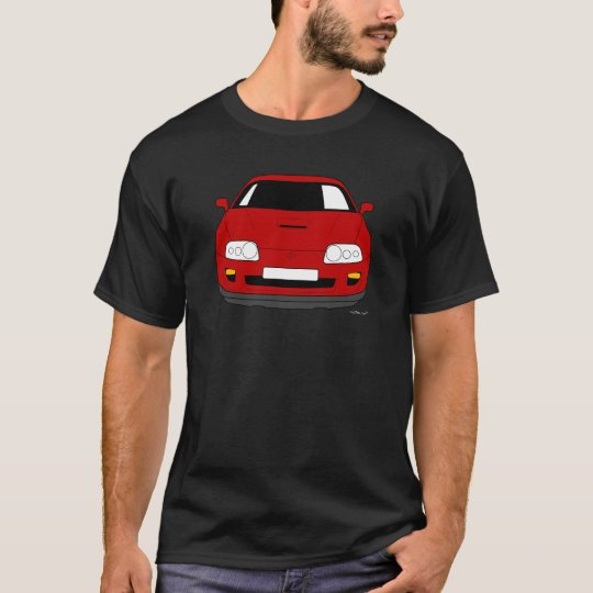 Customised Toyota Supra Car T shirt