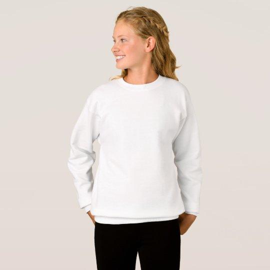 Hanes ComfortBlend® Sweatshirt, White