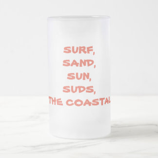 Customizable 16 z. Frosted Mug