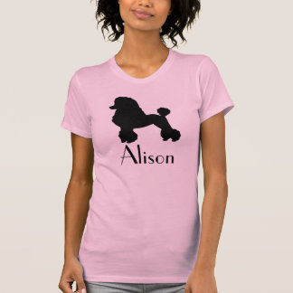 Customizable 1950s Poodle Skirt Inspired T-Shirt