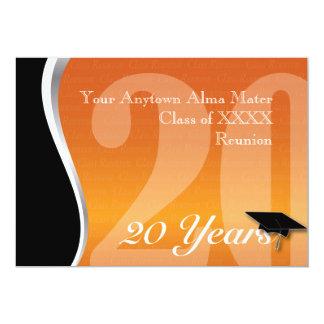 Customizable 20 Year Class Reunion Invitations