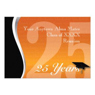 Customizable 25 Year Class Reunion Custom Invitation