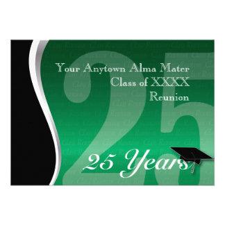 Customizable 25 Year Class Reunion Custom Announcement