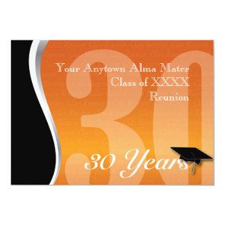 Customizable 30 Year Class Reunion Card