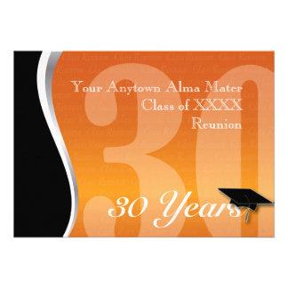 Customizable 30 Year Class Reunion Custom Announcements