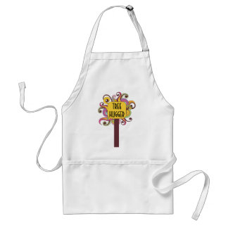 Customizable Abstract Tree Hugger Aprons
