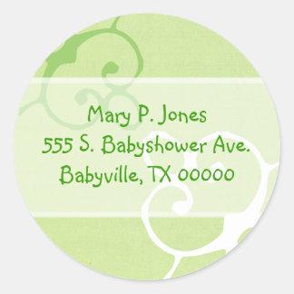 Customizable Address Label Stickers