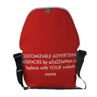 CUSTOMIZABLE ADVERTISING BACKPACKS  eZaZZleMan.com Courier Bag