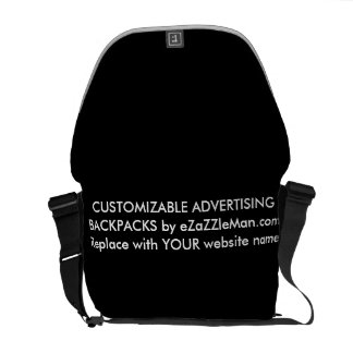 CUSTOMIZABLE ADVERTISING BACKPACKS  eZaZZleMan.com Courier Bags