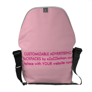 CUSTOMIZABLE ADVERTISING BACKPACKS  eZaZZleMan.com Messenger Bags