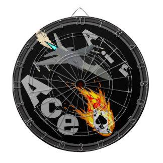 Customizable Air Ace Dartboard