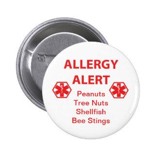 Customizable Allergy Alert Button