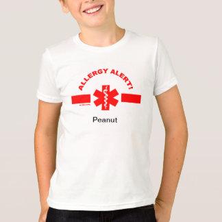 Customizable Allergy Alert KIDS SHIRT