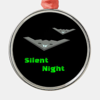 Customizable B2 Stealth Bomber Flying Silent Night Christmas Ornament