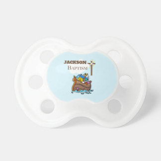 Customizable, Baby Boy Baptism Noah's Ark Dummy