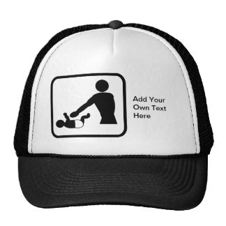 Customizable Baby Change Logo for a New Dad Cap