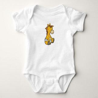 Customizable Baby Giraffe Baby Bodysuit