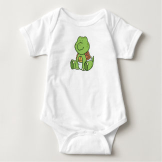 Customizable Baby Turtle Baby Bodysuit