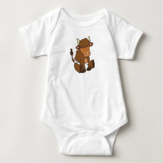 Customizable Baby Yak Baby Bodysuit