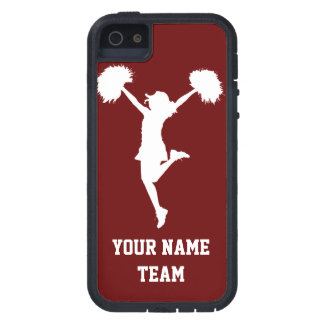 Customizable Background Cheerleader Cheerleading iPhone 5 Cases