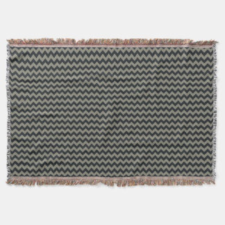 Customizable Background Color Chevron Afghan
