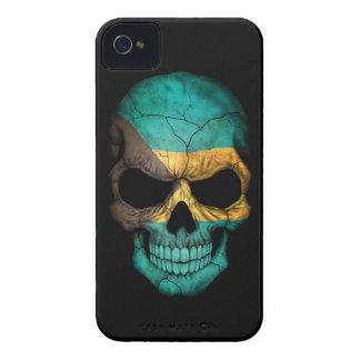 Customizable Bahamas Flag Skull Case-Mate iPhone 4 Case