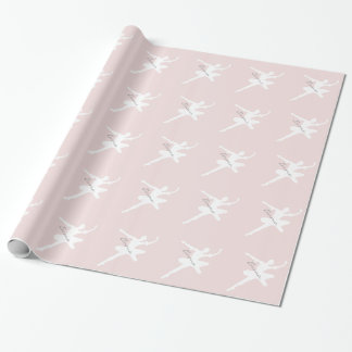 Customizable Ballerina Wrapping Paper
