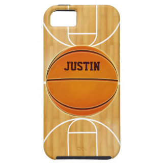 Customizable Basketball Court iPhone 5 Covers
