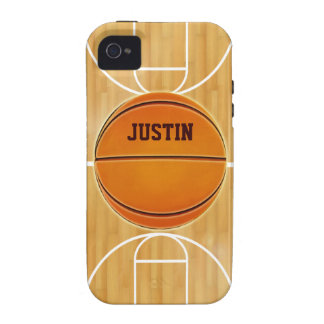 Customizable Basketball Court iPhone 4 Cover