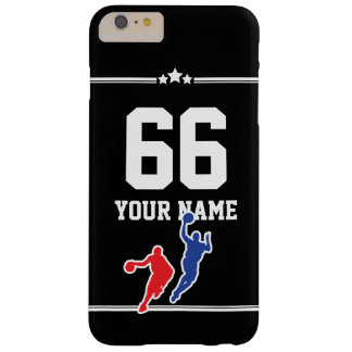 Customizable basketball jersey team colors… barely there iPhone 6 plus case