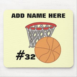 Customizable Basketball Mousepad