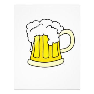 Customizable Beer Mug Flyers