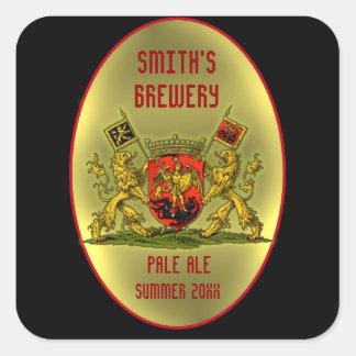 Customizable Beer or Wine Bottle Labels Sticker