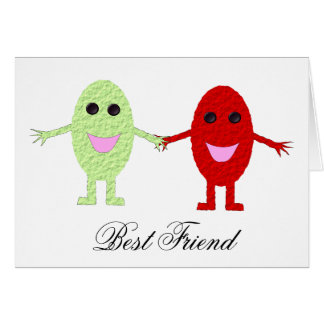 Customizable Best Friend Greeting Card