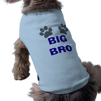 Customizable BIG BRO Dog Shirt for Dogs