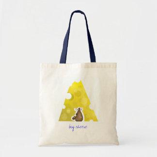 Customizable: Big cheese Budget Tote Bag