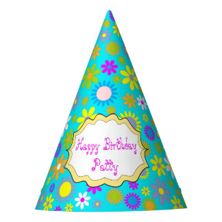 Customizable Birthday Party Hats - All Occasion