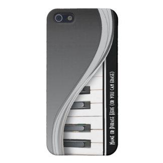 Customizable Black Classy Piano iPhone 5 Case