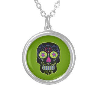 Customizable Black Sugar Skull Jewelry