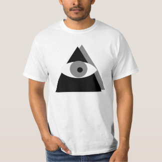 CUSTOMIZABLE Black & White Illuminati T-Shirt