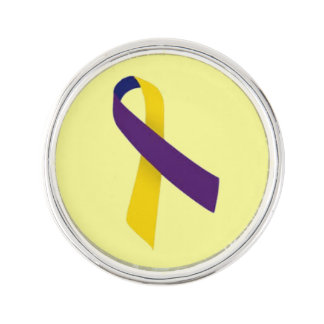 Customizable Bladder Cancer Lapel Pin