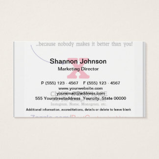 Customizable Blank Gift Template Business Card