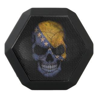 Customizable Bosnian Flag Skull Black Boombot Rex Bluetooth Speaker