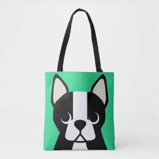 Customizable BOSTON TERRIER Tote Bag