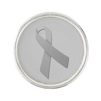 Customizable Brain Cancer Lapel Pin
